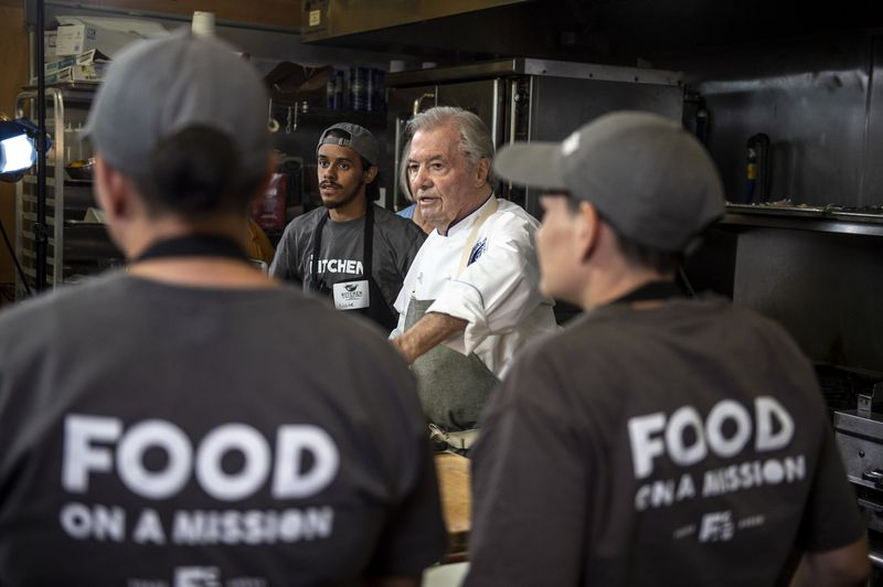 Renowned chef Jacques Pépin shows local chefs how to take their culinary skills beyond The Kitchen