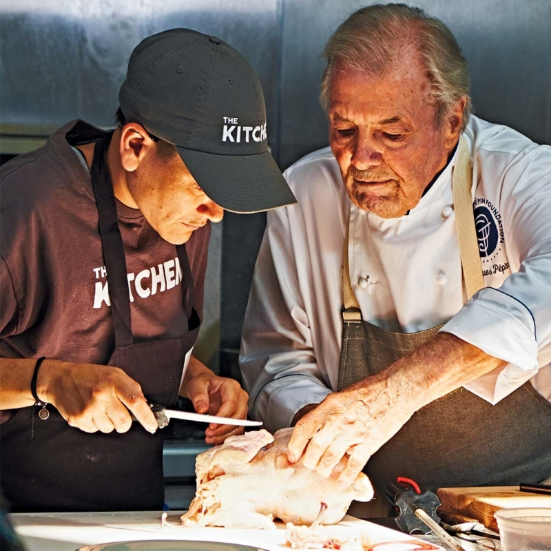 Chef Jacques Pépin Still Loves to Teach