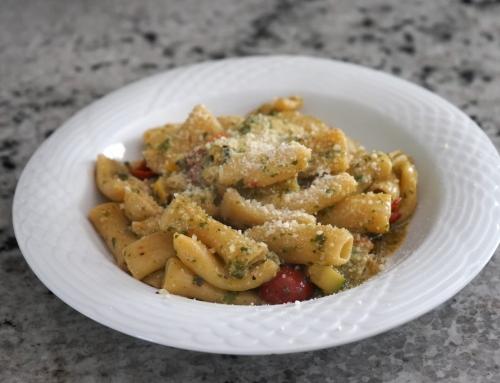 Recipe: Pasta Pesto Primavera